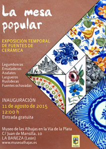 cartel expo fuentes